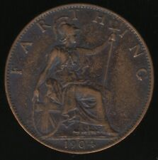 More details for 1904 edward vii farthing coin | british coins | pennies2pounds