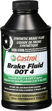 Castrol 12509 Dot 4 Brake Fluid 12 Oz Pack Of (1)