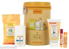 Burt's Bees NATURE'S TREAT Gift Set Face Cloths/Moisturiser/Lip Balm/Body Lotion