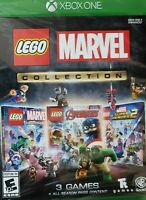 New Lego Marvel Collection (Xbox One) Avengers Super Heroes 1 & 2 Season Pass