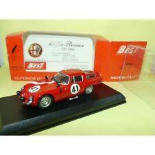 Voitures des 24 Heures du Mans miniatures 1:43 Alfa Romeo