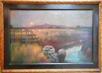 Guernsey. Original Oil by Listed Jersey artist John St Helier Lander. 1904