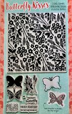 Butterfly Flower Birthday 11 Piece Embossing Folder Stamp Dies Card Making Set