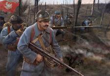 Strelets Mini 1/72 WWI Polierung Infanterie (blau Armee) #m130