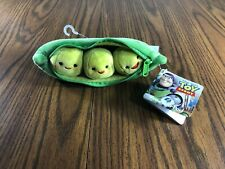 Disney Store 3 Peas In A Pod Stuffed Plush Zippered Toy Story 3 New With Tags
