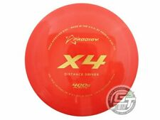 New Prodigy Discs 400G X4 167g Red Gold Foil Distance Driver Golf Disc