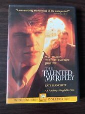 The Talented Mr. Ripley Dvd Video Widescreen Edition Paramount Miramax