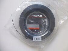 Head Lynx Monofilament 1,25mm 200m schwarz Rolle Tennissaiten