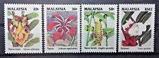 MALAYSIA 1993 WILD FLOWERS OF MALAYSIA SG 505 - 508 MNH