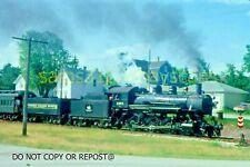 ORIGINAL SLIDE CHICAGO & NORTHWESTERN R-1 1385 WSOR SPECIAL RICHFIELD WI 1992
