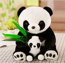 Mother And Son Panda Stuffed Animal Cute Cartoon Plush Doll Toy For Kid 23cm