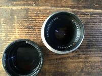 Praktina Objektiv Lens Tessar 2,8/50mm für Praktina + caps - Classic-CameraSTORE