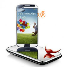 3 Packs Mirror Front Screen Protector fit for Samsung Galaxy S4 SIV i9500 B K7J5