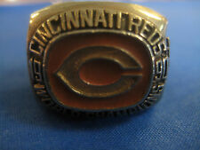 1990 Cincinnati Reds World Series Replica Ring Gatorade Sweep Wire to Wire