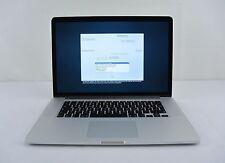 "2014 Apple MacBook Pro 15"" Retina 2.8GHz Core i7 512GB 16GB RAM GERMAN KEYBOARD"
