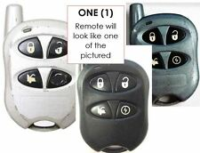 NAHTDK4 start Command control key FOB keyless remote entry alarm transmitter bob