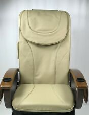 Pedicure chair Massage Seat Cover Cushion Upholstery with Oval shape headrest