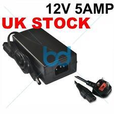 12V DC 5 AMP 2.1mm POWER SUPPLY ADAPTOR CCTV CAMERA 5A