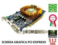 SCHEDA GRAFICA PCI EXPRESS 512 MB GF 9500 GT HDMI DVI NVIDIA GEFORCE POINTOFVIEW