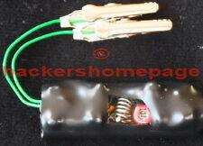FM VHF Mini Clip-On Phone Bug Telephone Tap Spy Transmitter Monitor