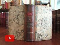 London Universal Magazine 1794 rare book 3 maps & 6 engravings w/ 6 issues