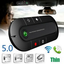 Bluetooth Wireless Vivavoce Auto Kit Altoparlante Telefono Visiera Nuovo