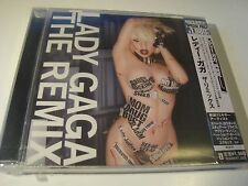 RAR CD. LADY GAGA. THE REMIX. MADE IN JAPAN. WITH OBI. SEALED.