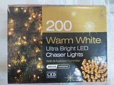 200 bianco caldo luci giardino di Natale Display multifunzione da esterno gazebo