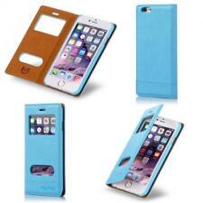 Numia Handy Tasche Schutz hülle Flip Cover Book Case Etui Samsung Galaxy S5 blau