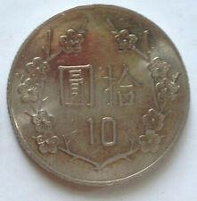 Taiwan 10 Yuan coin 2008