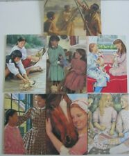 American Girl Stationary Set Note Cards Post Card Envelopes Collectible Box 2003