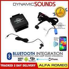 Alfa Romeo Bluetooth Streaming Handsfree Calls CTAARBT001 AUX in Car MP3 iPhone