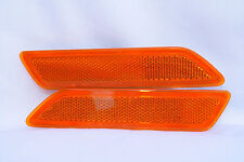 Front Side Marker Reflector Light Lamps One Pair for 2007-2010 Sebring