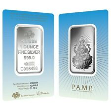 Year of the Horse 100 gram Silver Bar - SKU #78607 PAMP Suisse