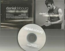 X factor DANIEL DEBOURG I need an Angel w/ RARE RADIO EDIT PROMO DJ CD single