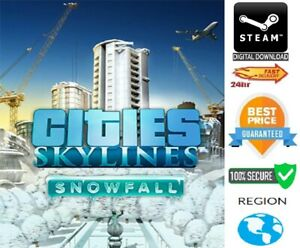Cities: Skylines Snowfall DLC PC/Mac Steam GLOBAL **FAST DELIVERY**