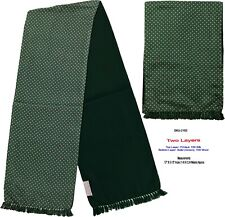 Unisex Premium Quality Unique Reversible Wool & Silk Long Scarf Paisley 2163