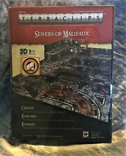 Sewers of Malifaux 3D Terraclips Terrain System  25mm to 32mm Mini Base New