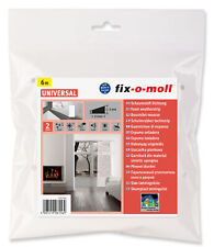 (1,98 EUR/m) fix-o-moll Schaumstoffdichtung sk weiß 3m x 15mm | 615