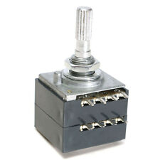 1PCS Potentiometer 50K Log ALPS Audio Amp Volume Control Pot Stereo W Loudness M