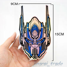 Laser Chrome Transformers Autobot Logo Car Auto SUV Badge Emblem Sticker Decal