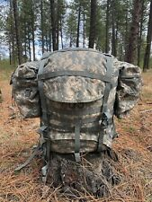 Genuine Usgi Military Surplus Molle 2 Ii Rucksack W/ Frame, Sustainment Pouches