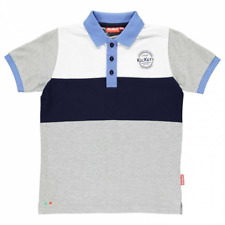 Kickers Cut And Sew Polo Age 9-10 Years TD099 LL 06