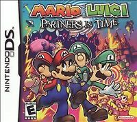 Mario & Luigi: Partners in Time (Nintendo DS, 2005) GAME ONLY, TESTED & WORKING