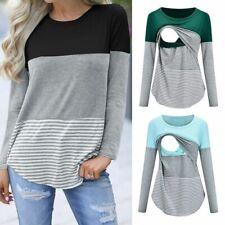 Breastfeeding Shirt Pregnant Maternity Nursing Tops Women Breast Feeding Clothes