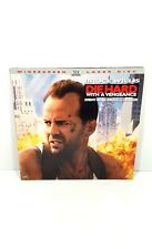 Die Hard 3 With A Vengeance Laserdisc Widescreen Bruce Willis