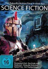 DVD NEU/OVP - Science Fiction - Drei Zukunfts-Action-Filme