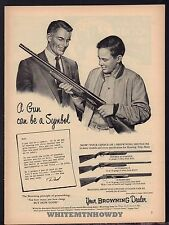 1955 Browing Automatic 5, Double & Superposed Shotgun Father & Son Ad