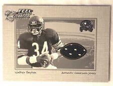 2000 FLEER FEEL THE GAME CLASSICS WALTER PAYTON BEARS HOF GAME WORN JERSEY  RARE