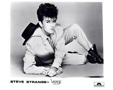 "Steve Strange / Visage 10"" x 8"" Photograph no 12"